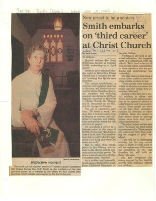 Smith embarks on third career at Christ Church
