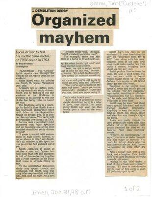 Organized Mayhem