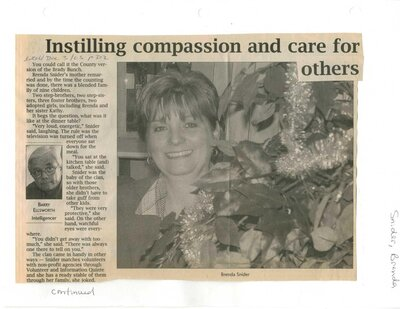 Instilling compassion and care for others