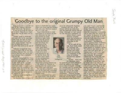 Goodbye to the original Grumpy Old Man