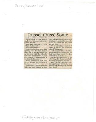 Russel (Russ) Soule
