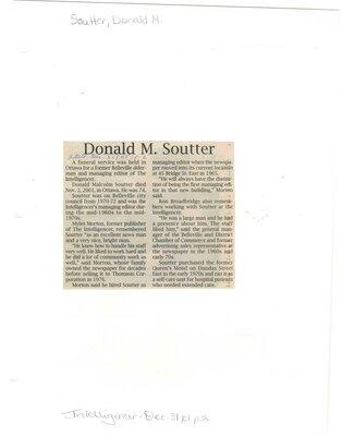 Donald Soutter