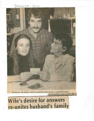 Wife's desire for answers reunites husband's family