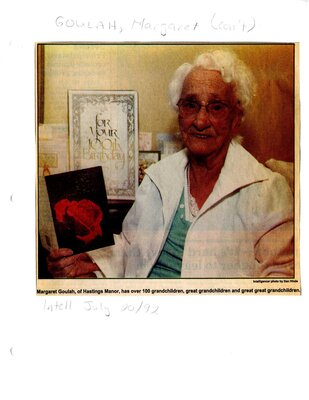 Centenarian comes from era where bigger is better cont.d
