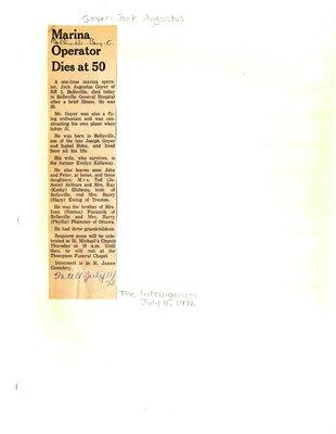 Marina Operator Dies at 50
