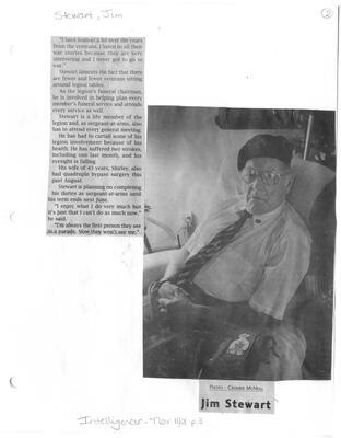 A parade veteran