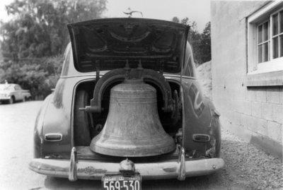 Burlington town bell, cast 1894