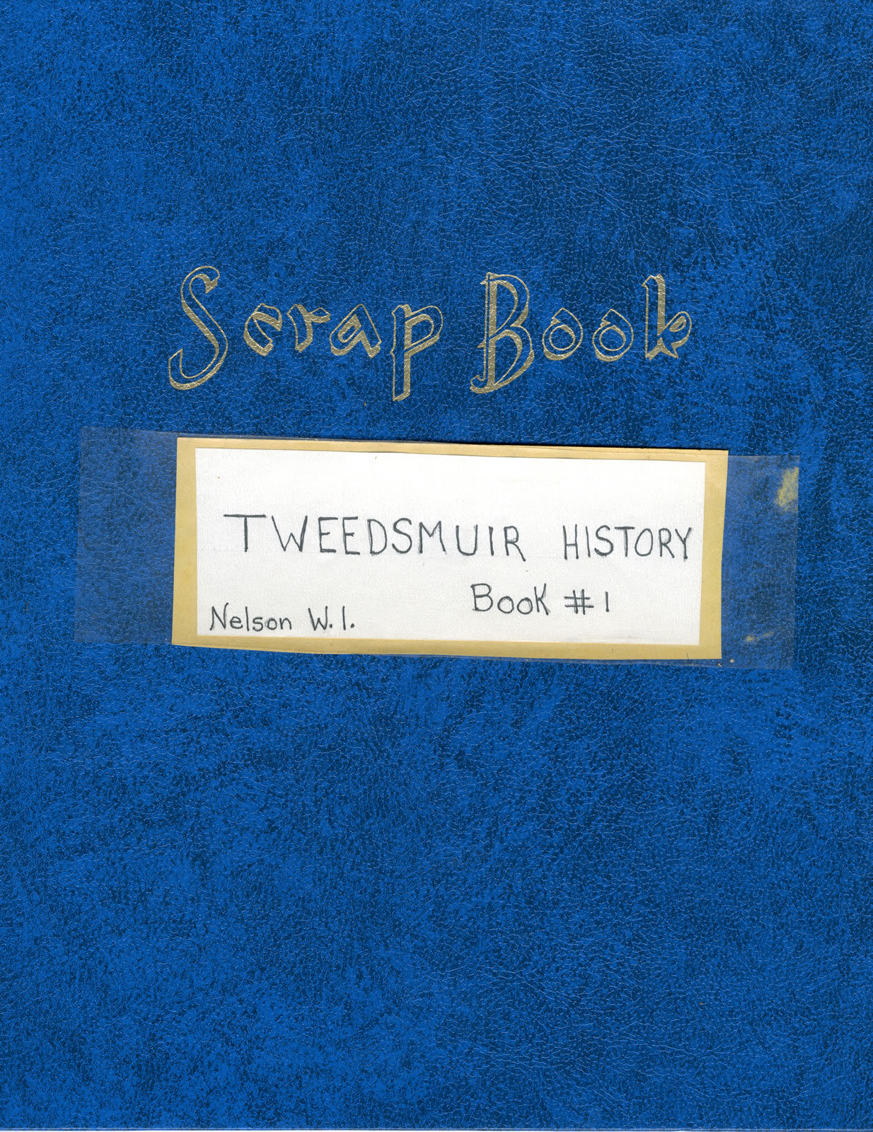 Nelson Women's Institute Tweedsmuir History, Book I (of 3 Books, currently available on OurOntario.ca)