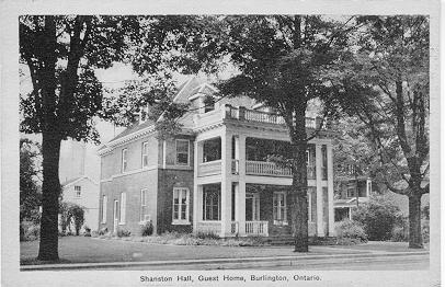 Shanston Hall, Guest Home, Burlington, Ontario -- Exterior