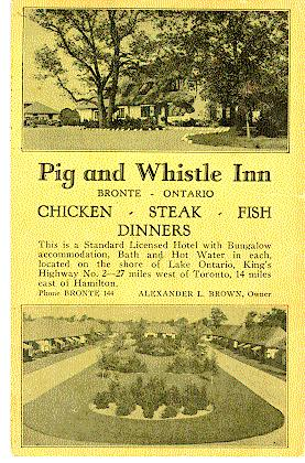 Pig & Wistle Inn -- Exterior, 2 views