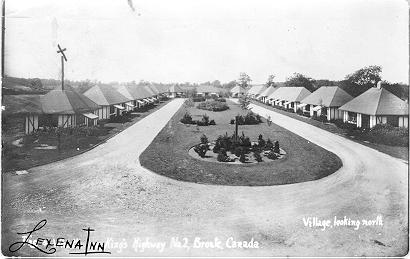 Lexena Inn: Village, looking north -- Exterior; dated August 8, 1932
