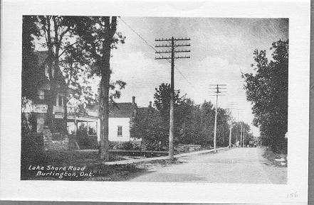 Lake Shore Road, Burlington Ont.