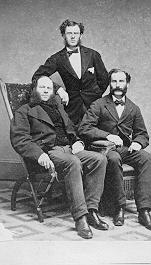 Collar Family -- Ed Collar, James Collar and another