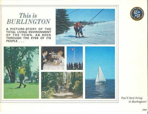 This is Burlington, Brochure