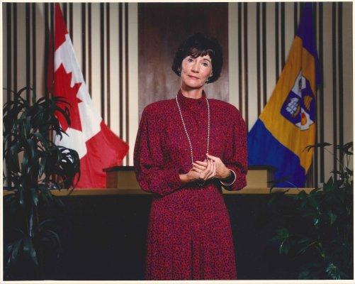 Mayor Mary Munro, City of Burlington Mayor 1977-1978