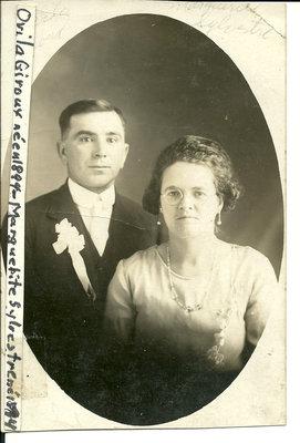 Ovila Giroux & Marguerite Sylvestre