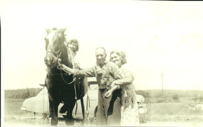 Albertine Bigras, Arthur Savage & Albina Lalonde