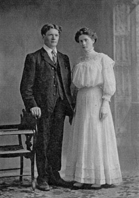 Joseph and Catherine (McLean)  Hannon, 1907