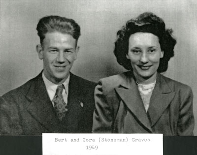 Bert and Cora (Stoneman) Graves