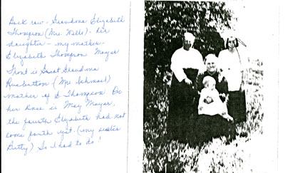 Grandma Elizabeth Thompson