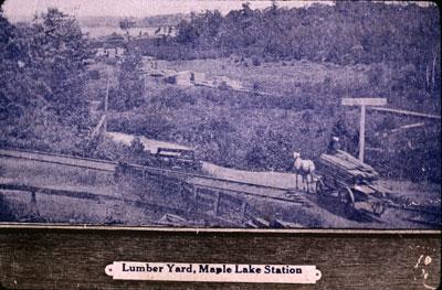 Maple Lake Lumber Yard