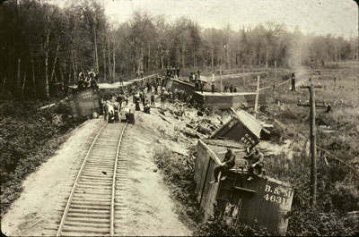Train Wreck, October 4th 1902