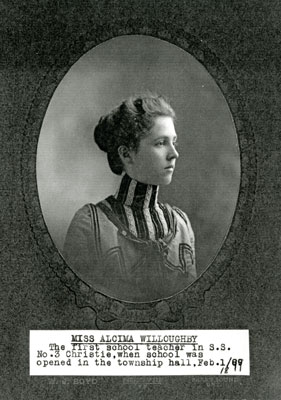 Miss Alcima Willoughby