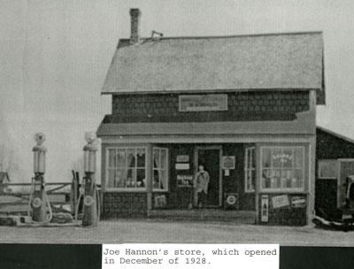 Joe Hannon's Store