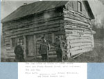 Log cabin at Chain of Lakes