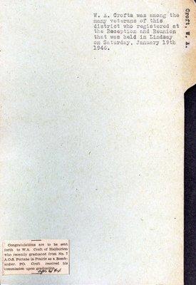 Pages 203-204: Croft, W. A.