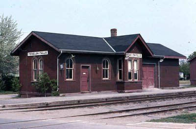 Train Station, Fenelon Falls