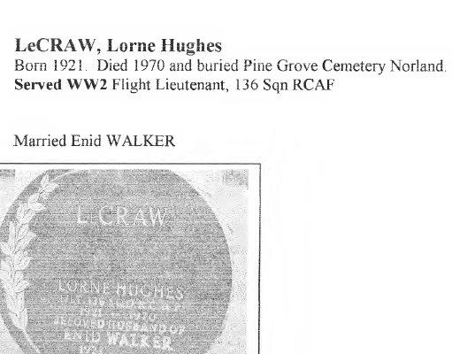 Page 250: LeCraw, Lorne Hughes