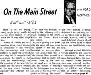 On the Main Street - 18 October 1966