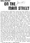 On the Main Street - 9 January 1967