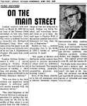 On the Main Street - 19 April 1967