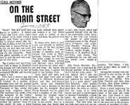 On the Main Street - 17 June 1968