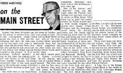 On the Main Street - 12 October 1968
