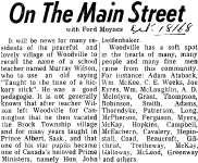 On the Main Street - 18 October 1968