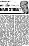 On the Main Street - 6 November 1968