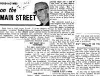 On the Main Street - 5 February 1969