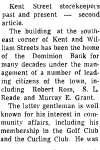 On the Main Street - 22 October 1969