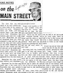 On the Main Street - 16 September 1970