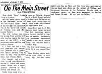 On the Main Street, 7 Nov 1973