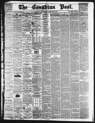Canadian Post (Lindsay, ONT), 29 Jan 1875