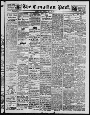 Canadian Post (Lindsay, ONT), 30 May 1890