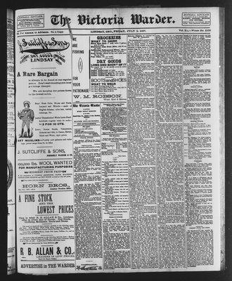 Victoria Warder (Lindsay, ONT), 2 Jul 1897