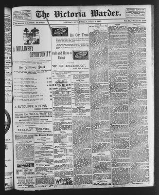 Victoria Warder (Lindsay, ONT), 9 Jul 1897