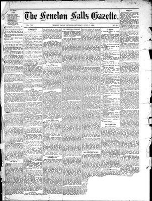 Fenelon Falls Gazette, 17 Jul 1880