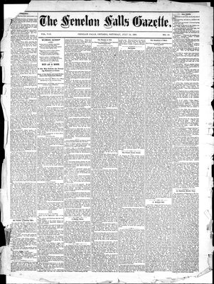 Fenelon Falls Gazette, 24 Jul 1880