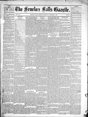 Fenelon Falls Gazette, 4 Sep 1880